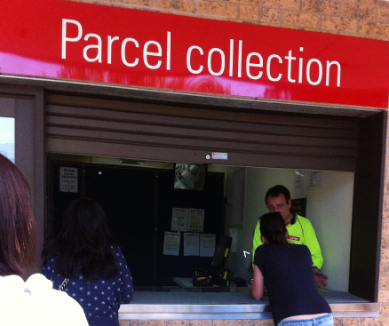 Australia Post; Parcel Pick Up Lottery