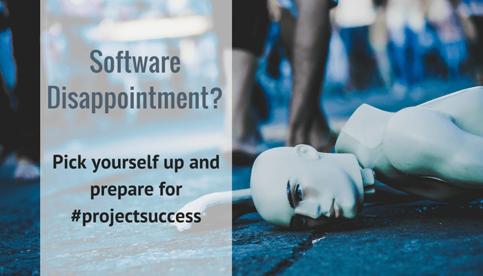 How to overcome software disappointment
