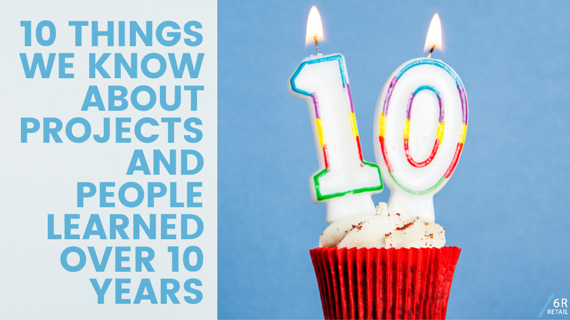 10 Things we know about Projects and People learned 10 years